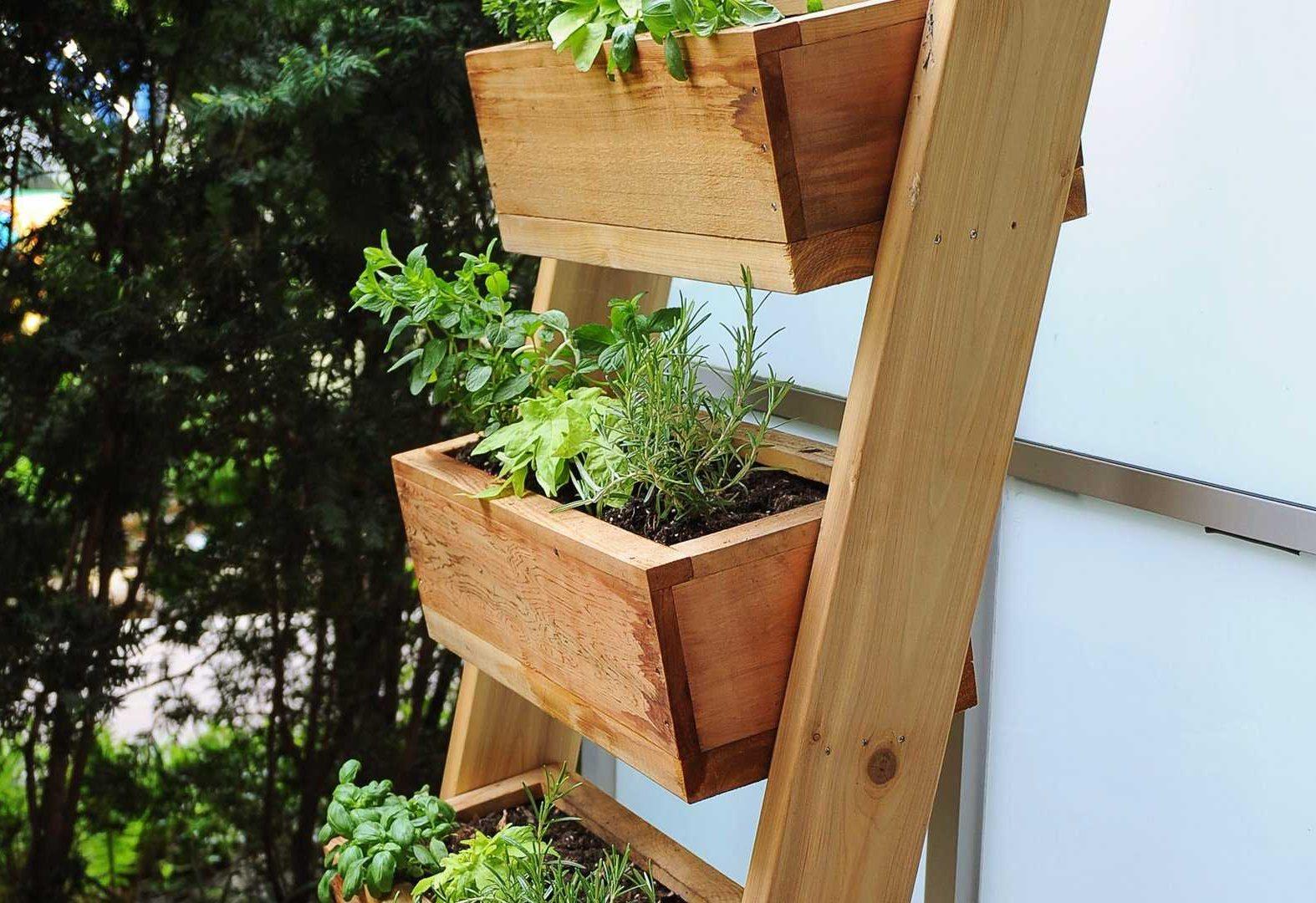 Build a Vertical Herb Garden